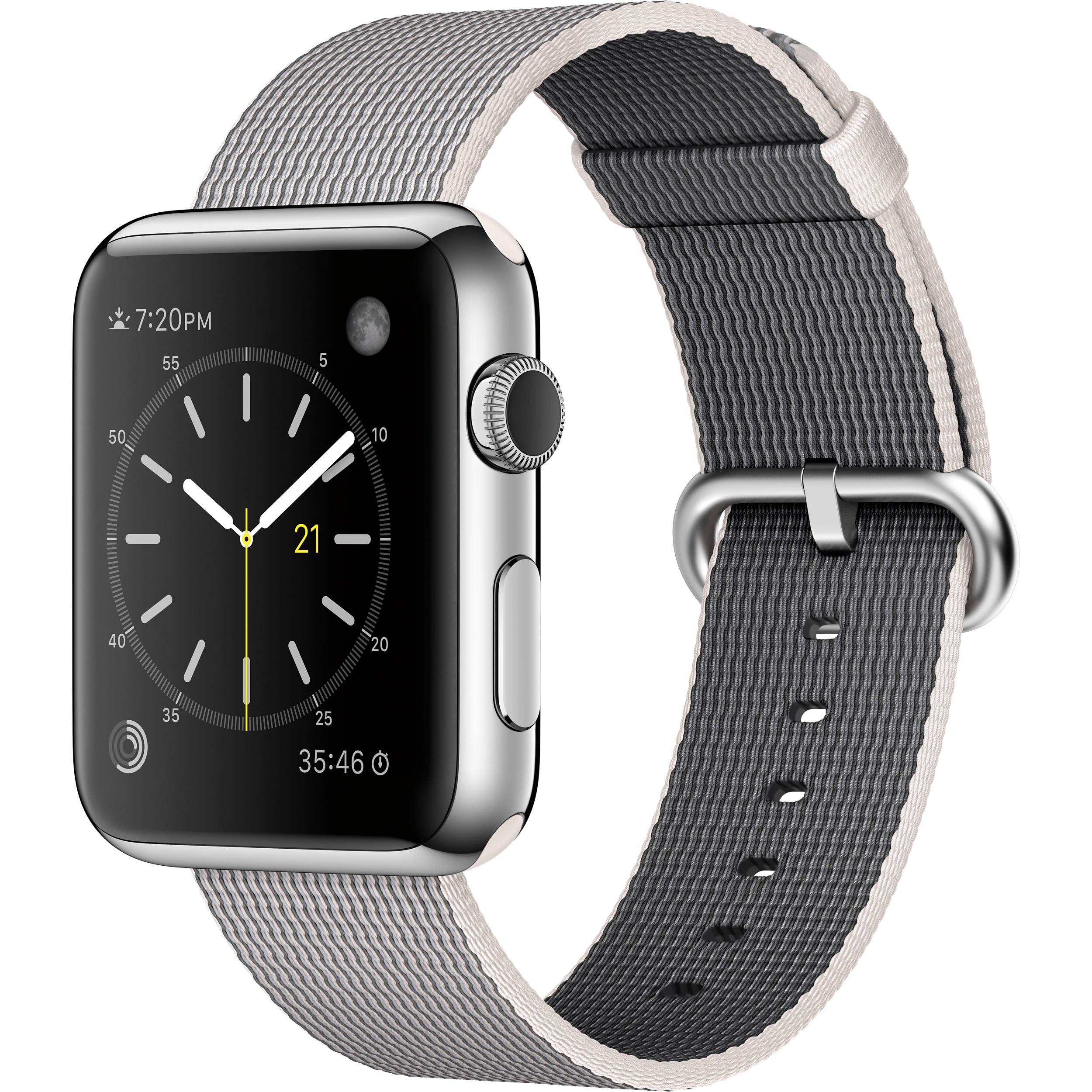 c smartwatch watch case apple milanese steel loop b h photo band video product reg stainless a watches